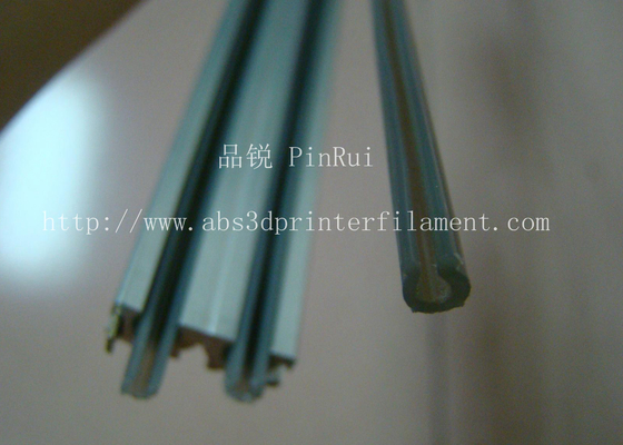 ประเทศจีน ABS Hard Plastic Tubes For Light Rail Track Tape PC With Heat Resistant / Flame Retardant ผู้ผลิต
