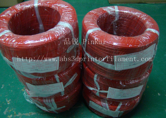 ประเทศจีน Large Diameter Rigid PP Plastic Hard Tubes Red / Yellow For Electrical Wire ผู้ผลิต