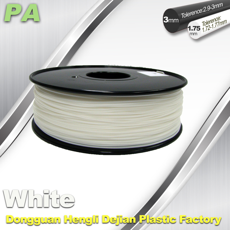 Nylon 3D Printing Filament 1.75mm 3.0mm Or PA Material For 3D Printing