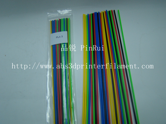 250mm 3D Pen Filament Customized 3d Printer Filament 3mm / 1.75mm