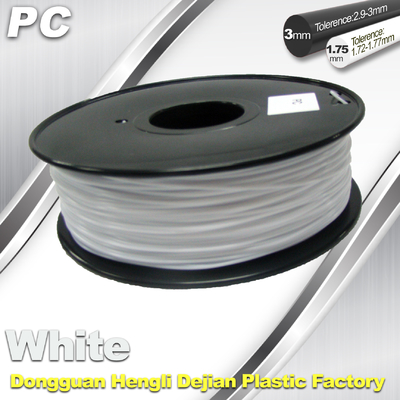 PC Filament 1.75mm and 3mm For 3D Printer Filament High Temperature Resistant