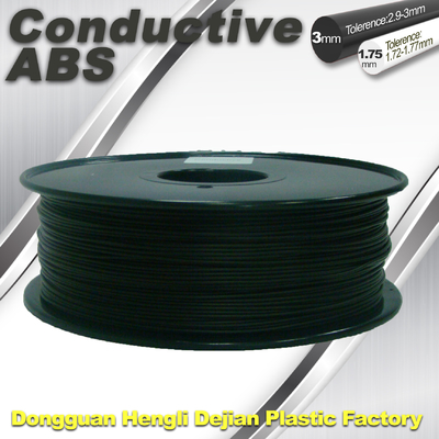 Good Performance Of Electroplating ABS Conductive 3D Printer Filament 1kg / Spool  Conductive Filament