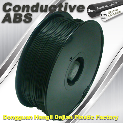 Markerbot ,  ABS Conductive 3D Printer Filament 1.75mm / 3.0 mm