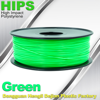 OEM HIPS 3D Printer Filament Consumables , Reprap Filament 1.75mm / 3.0mm