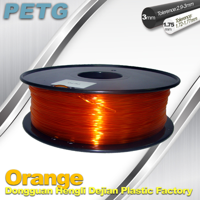 RepRap , UP 3D Printer PETG 1.75 or 3mm filament Acid and Alkali Resistance