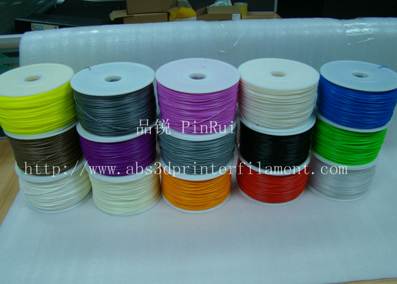 Purple 1.75mm 3D Printing Filament Materials For Makerbot Mendel 3d Printer , Good Toughness